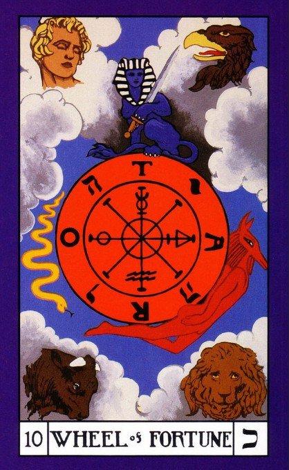 10 bota tarot wheel of fortune
