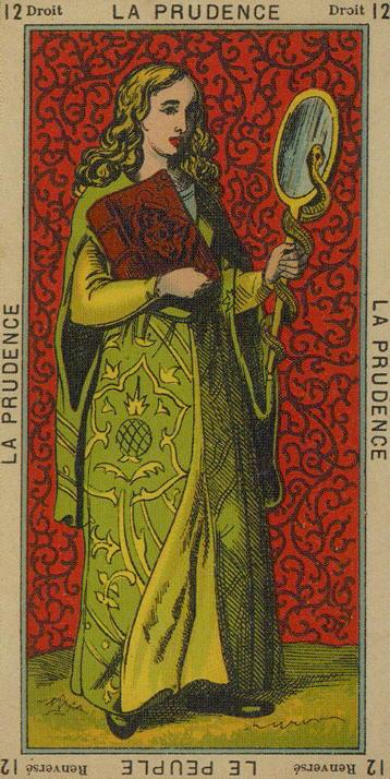 12 The Prudence Prudence People The Etteilla Tarot The Book of Thoth