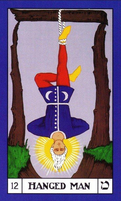 12 BOTA Tarot The Hanged Man