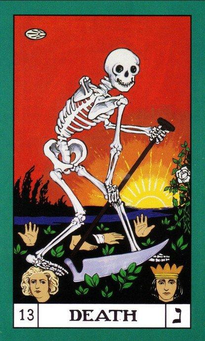 13 BOTA Tarot Death