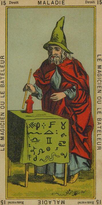 Magician, Etteilla Tarot