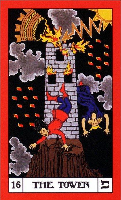 16 BOTA Tarot The Tower
