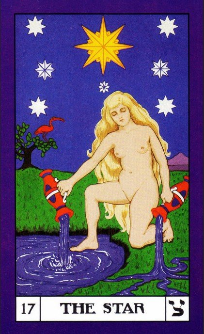 17 BOTA Tarot The Star