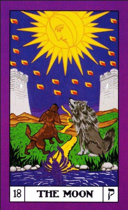 18 BOTA Tarot The Moon