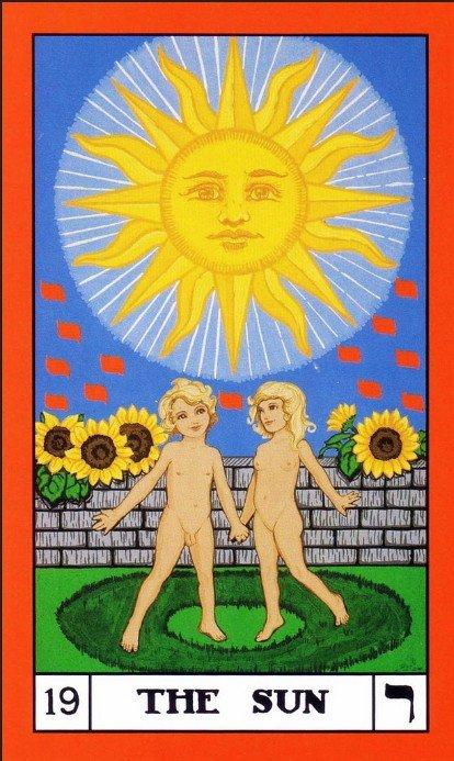 19 BOTA Tarot The Sun