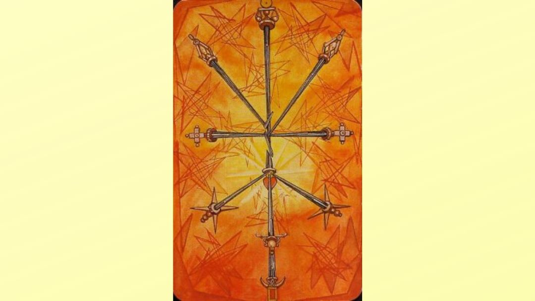 10 of Swords - Book of Thoth Minor Arcana