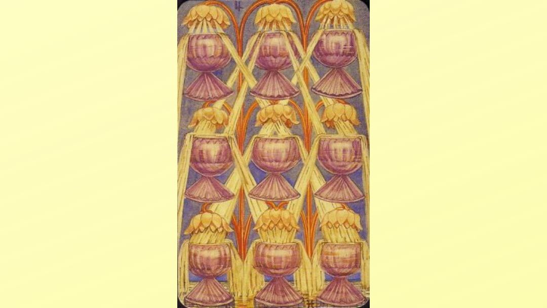 9 of Cups - Book of Thoth Minor Arcana