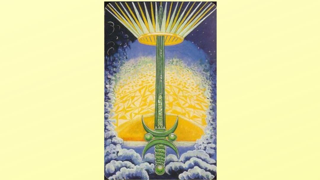Ace of Swords – Book of Thoth