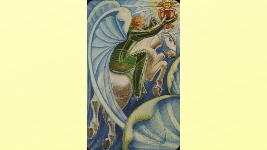 Knight of Cups - Book of Thoth Minor arcana