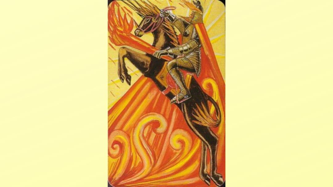 Knight of Wands – Book of Thoth