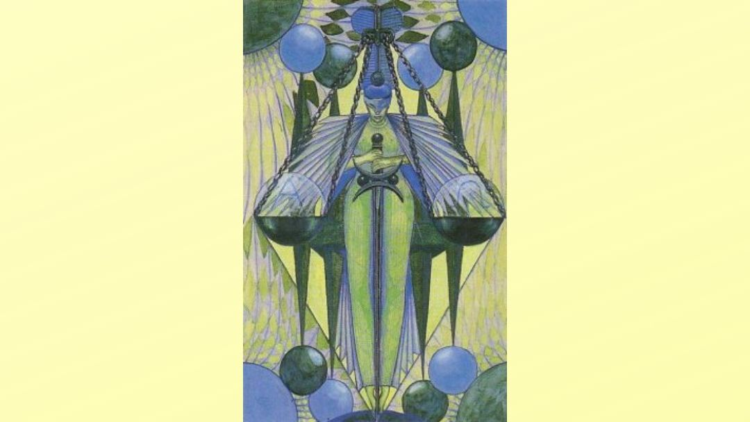Adjustment - Book of Thoth Major Arcana