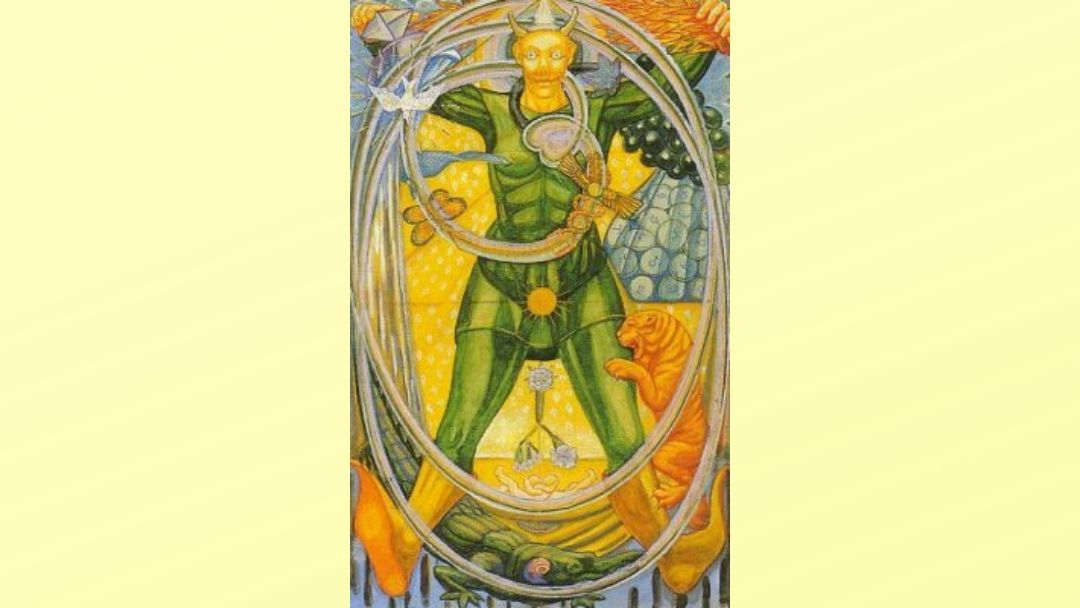 The Fool - Book of Thoth Major Arcana