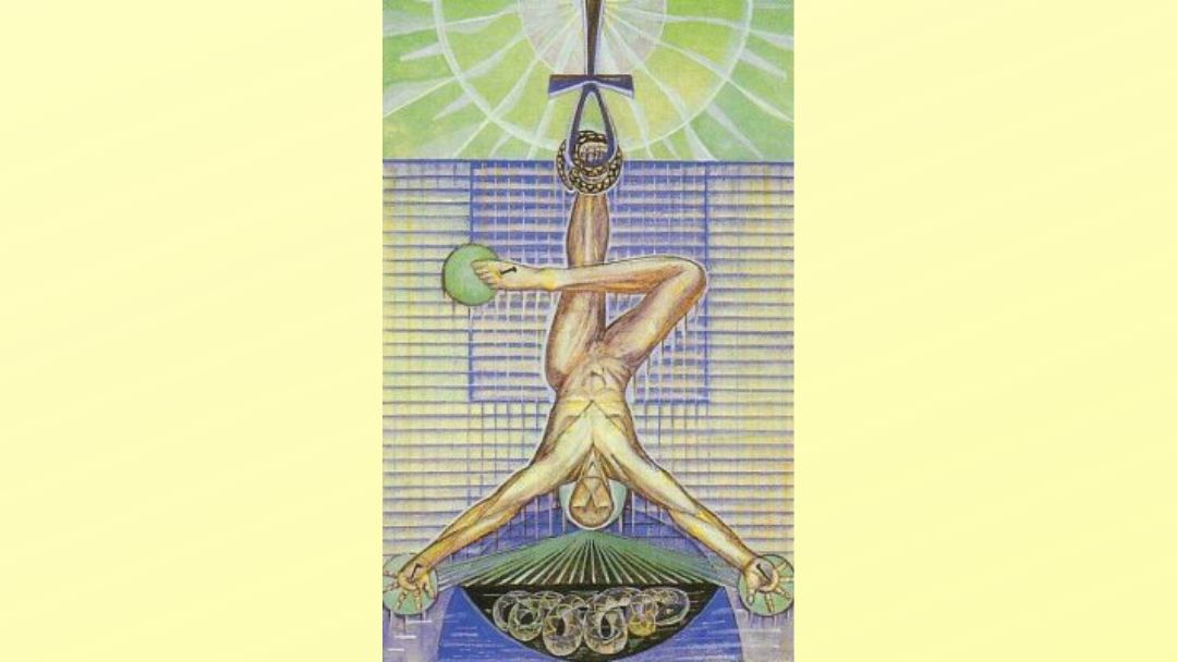 12 The Hanged Man – Book of Thoth