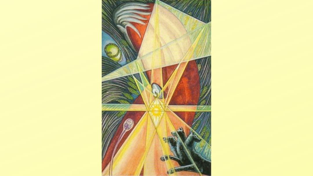 The Hermit - Book of Thoth Major Arcana