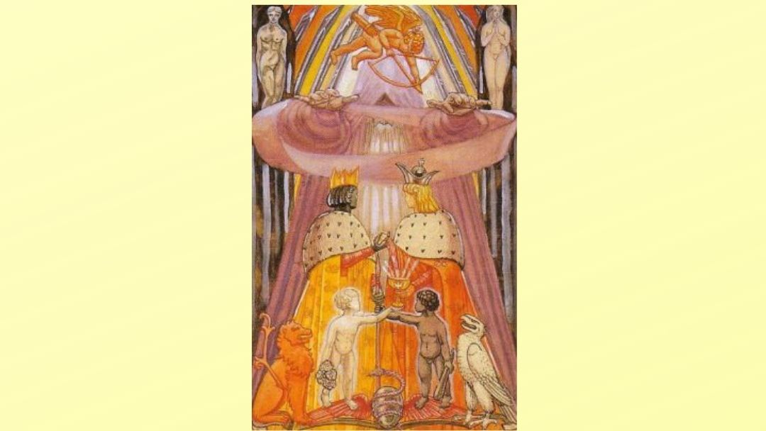 The Lovers - Book of Thoth Major Arcana