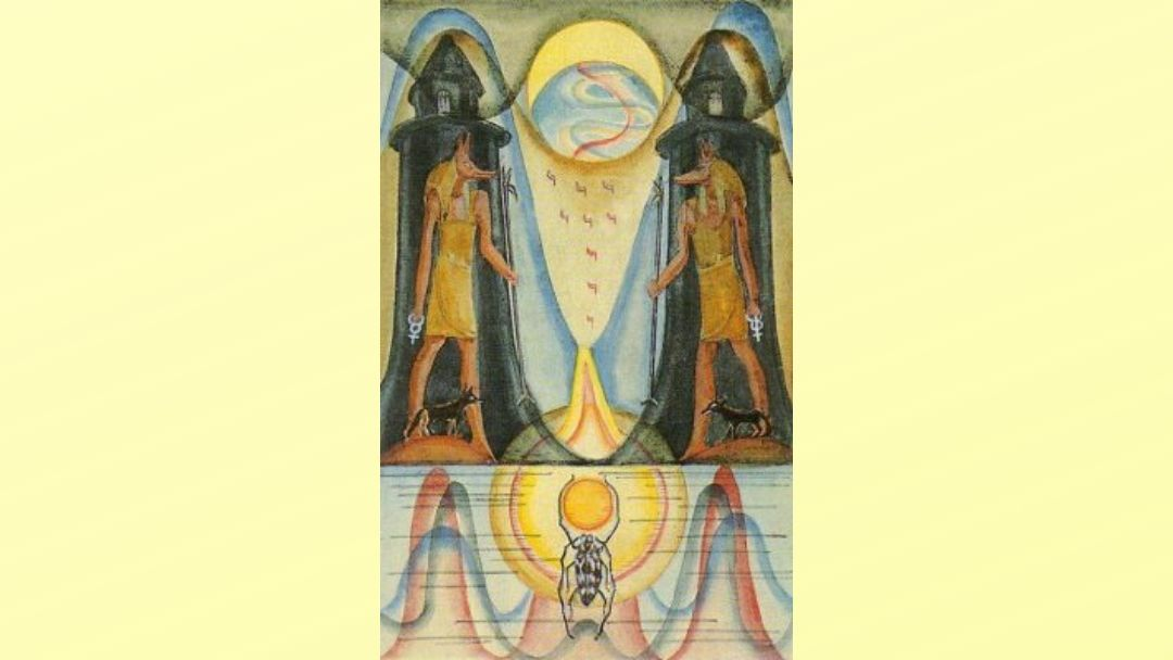 18 The Moon – Book of Thoth