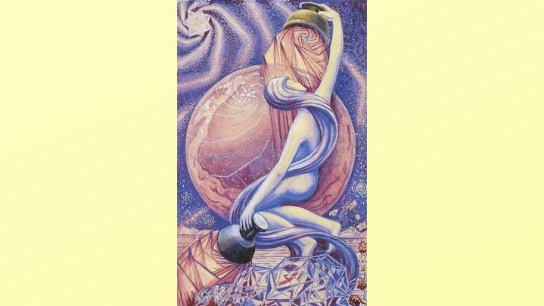 The Star - Book of Thoth Major Arcana