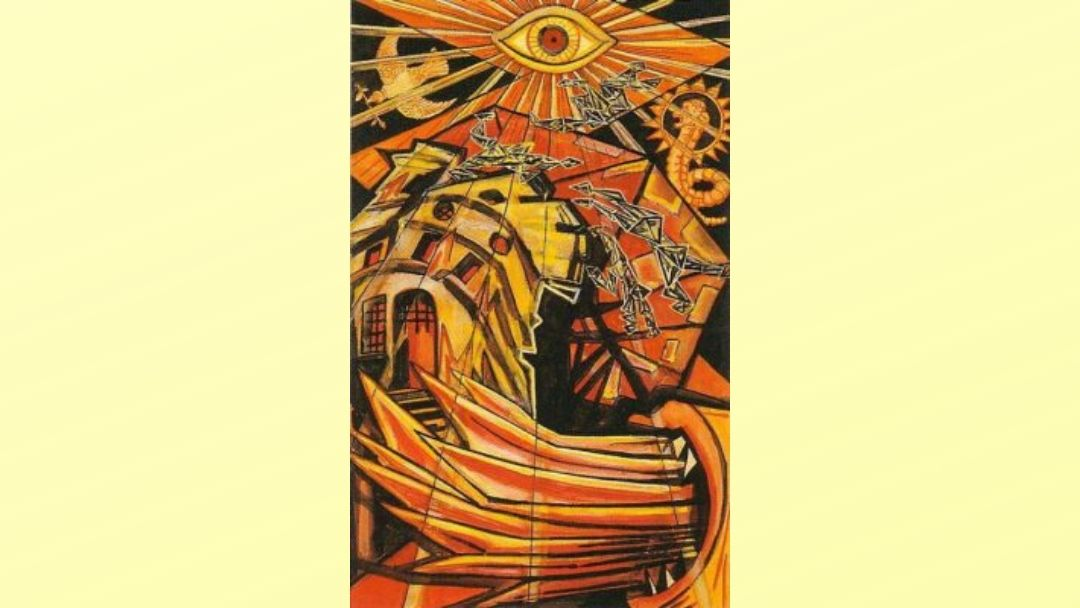 The Tower - Book of Thoth Major Arcana