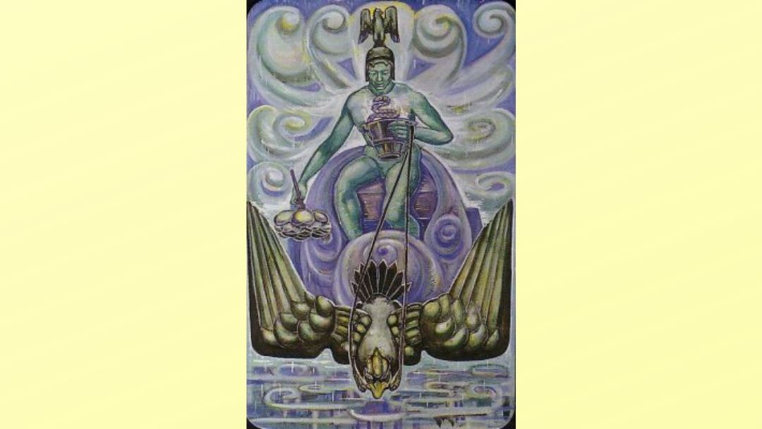 Prince of Cups - Book of Thoth court card
