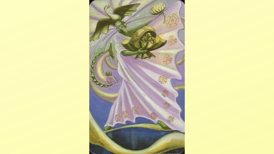 Princess of Cups - Book of Thoth court card