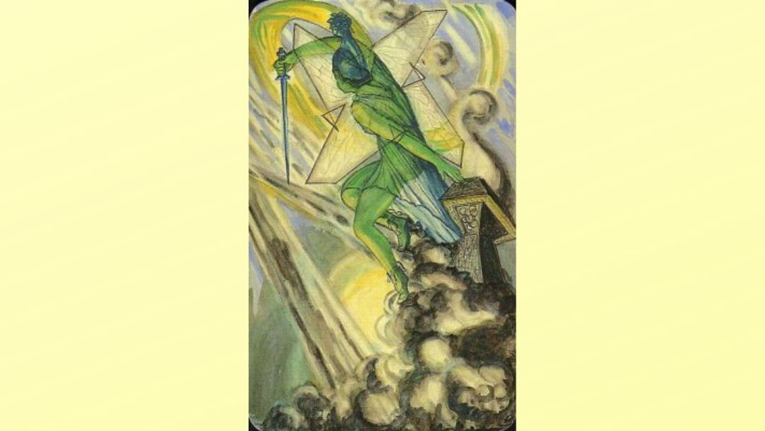 Princess of Swords - Book of Thoth court card
