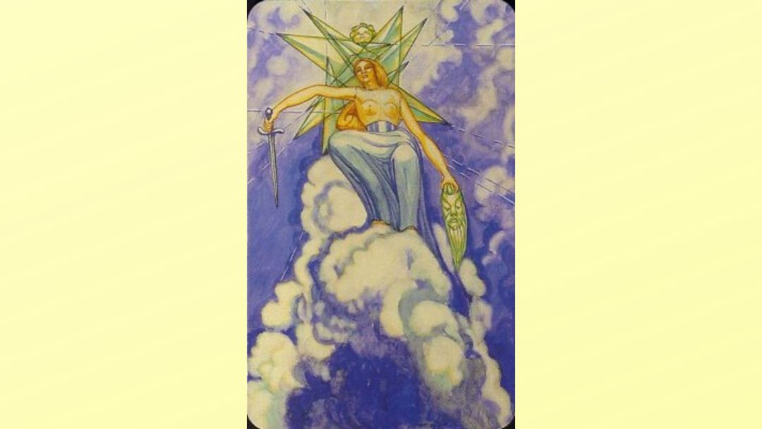 Queen of Swords - Book of Thoth court card