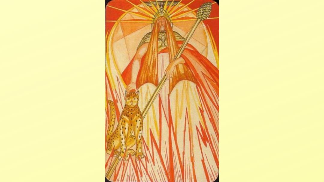 Queen of Wands – Book of Thoth