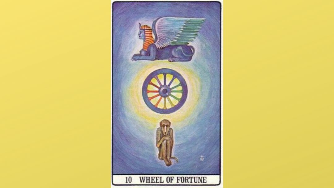 10 Wheel of Fortune – Golden Dawn
