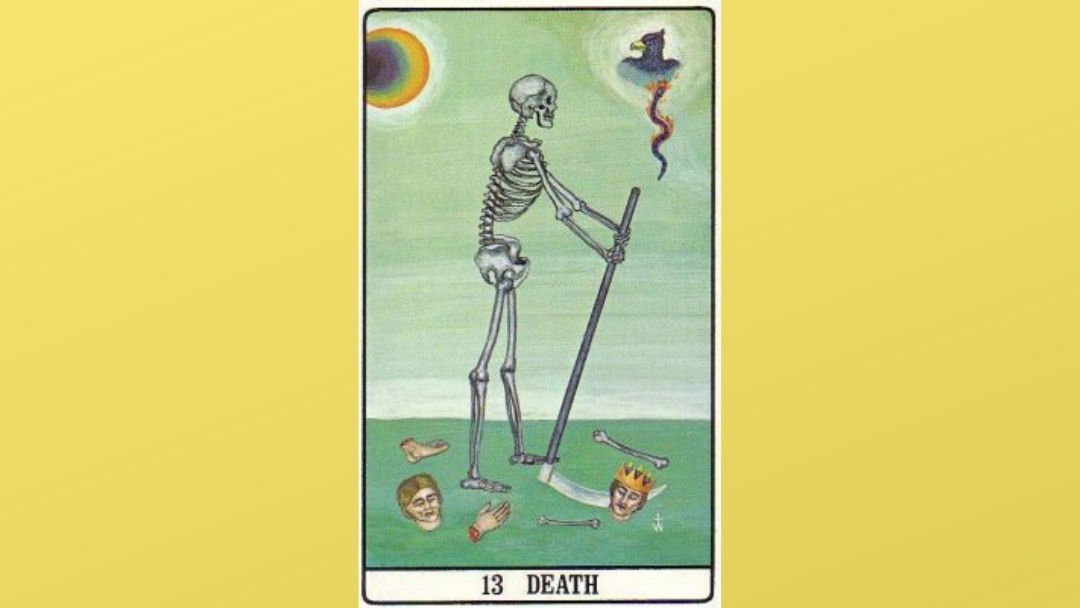 13 Death - Golden Dawn Major Arcana