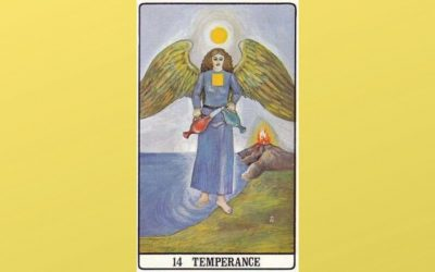 14 Temperance – Golden Dawn