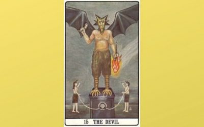 15 The Devil – Golden Dawn