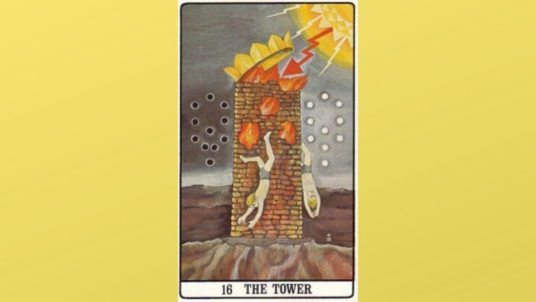 16 The Tower – Golden Dawn