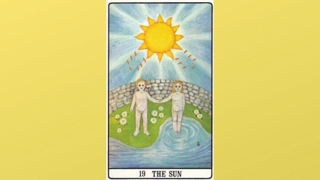19 The Sun – Golden Dawn