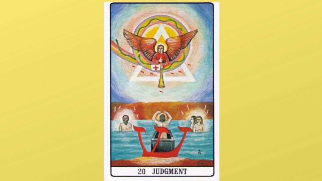 20 Judgment Golden Dawn Major Arcana