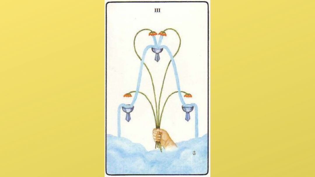 5 of Cups - Golden Dawn Minor Arcana