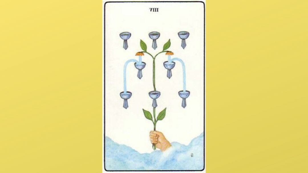 Lord of Abandoned Success – 8 of Cups – Golden Dawn
