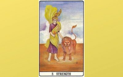 8 Strength – Golden Dawn