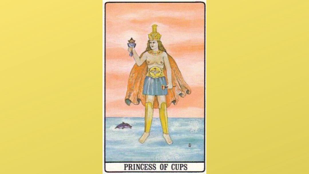 Princess of Cups - Golden Dawn Tarot