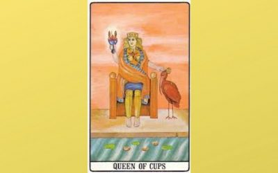 Queen of Cups – Golden Dawn