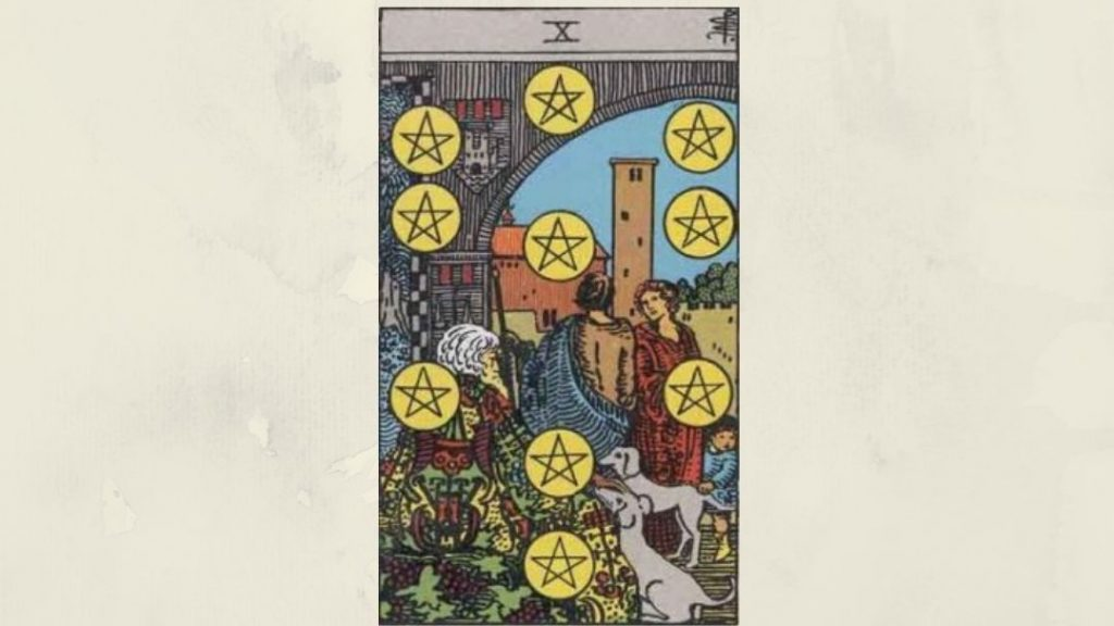 10 of Pentacles - Rider-Waite Minor Arcana