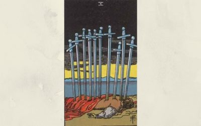 10 of Swords – Rider-Waite