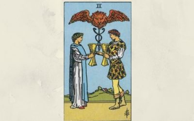 2 of Cups – Rider-Waite