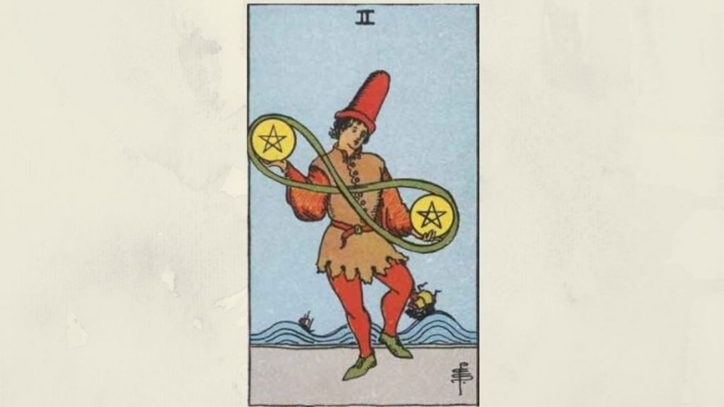 2 of Pentacles - Rider-Waite Minor Arcana