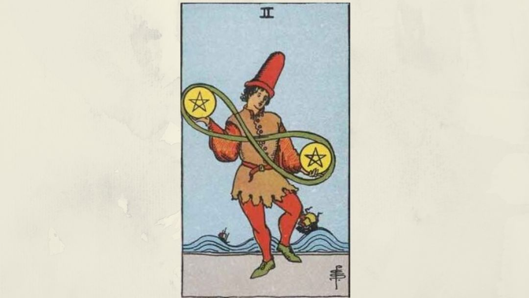 2 of Pentacles – Rider-Waite