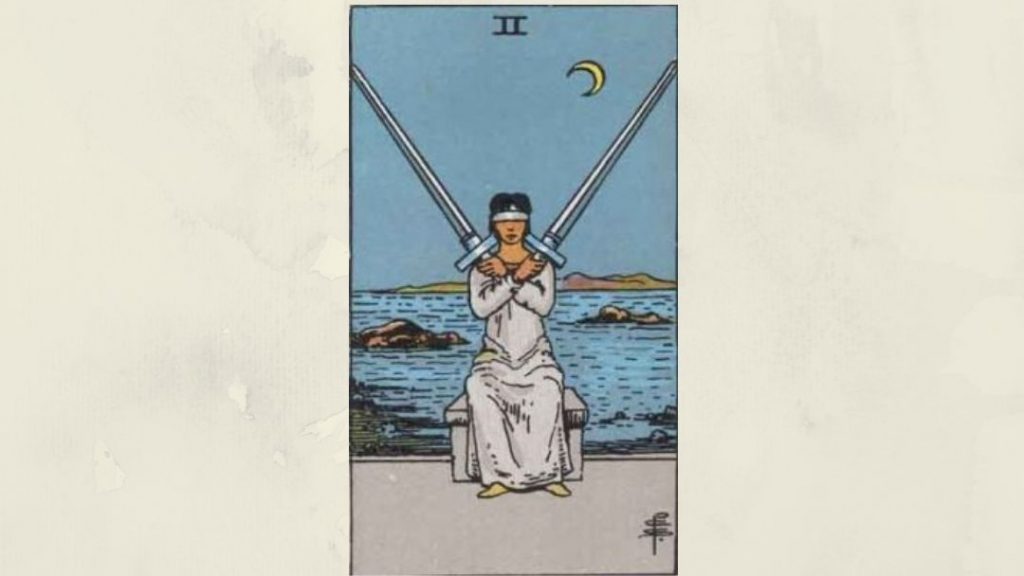 2 of Swords - Rider-Waite Minor Arcana