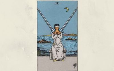 2 of Swords – Rider-Waite
