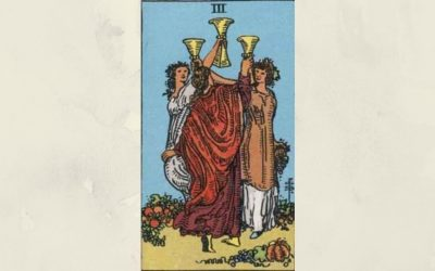 Three of Cups – Rider-Waite