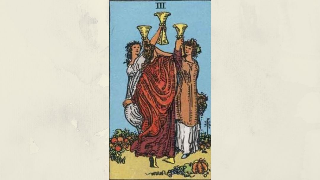 3 of Cups - Rider-Waite Minor Arcana