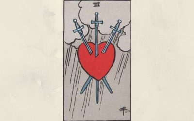 3 of Swords – Rider-Waite