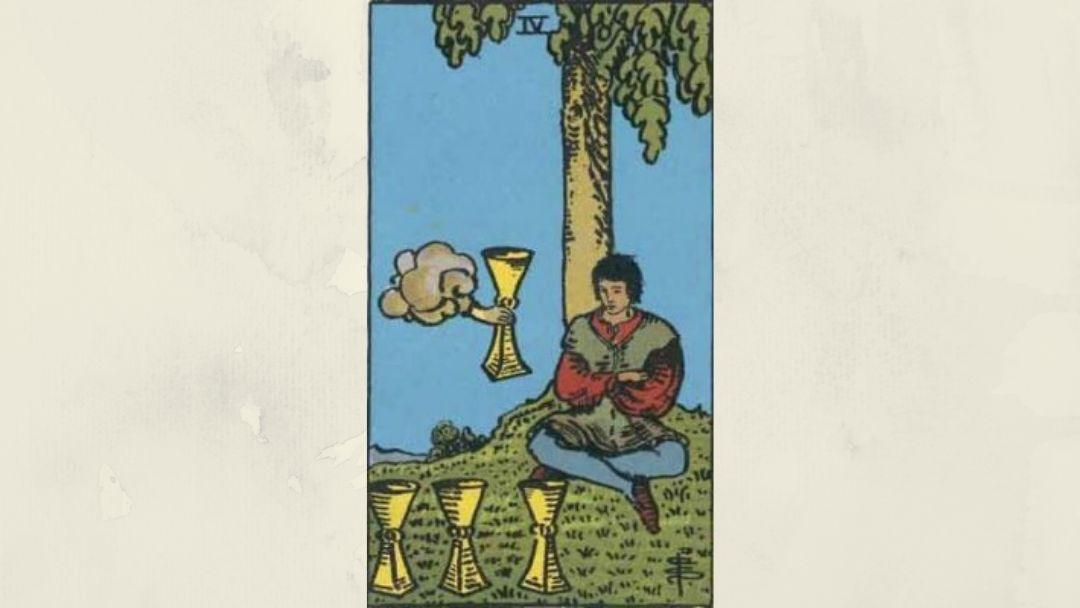 4 of Cups – Rider-Waite